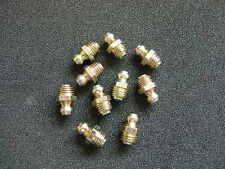 Schmiernippel Montage M6 x 1 Gerade (10) - UK Hergestellt