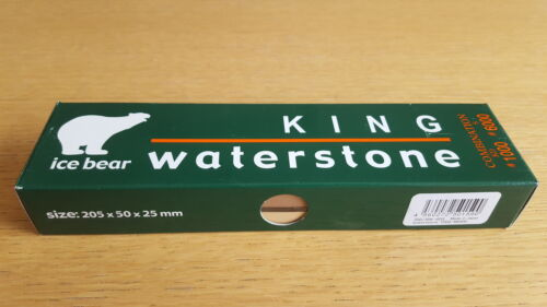 6000 Grit Ice Bear Japanese King Waterstone Combination 1000