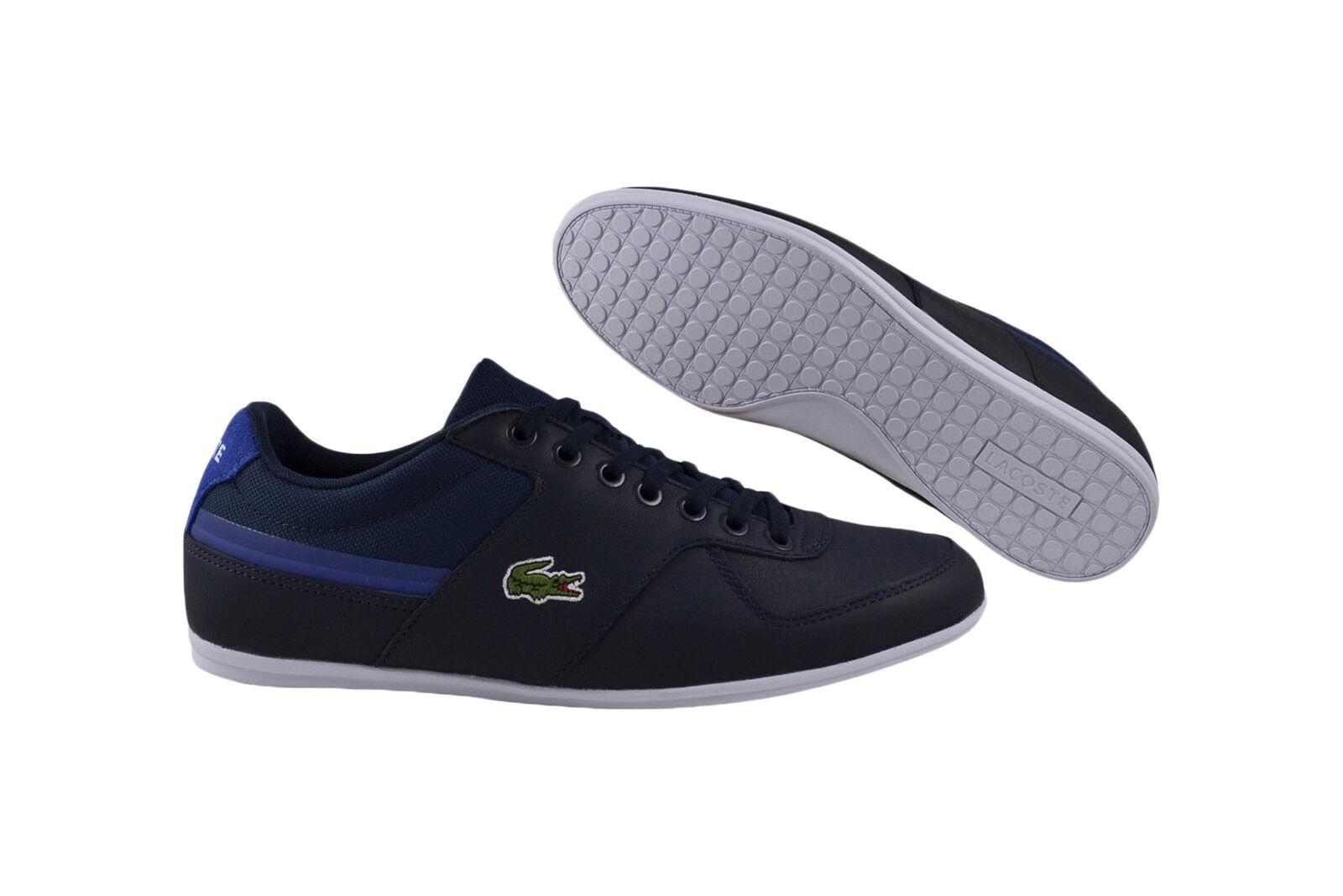 Lacoste Taloire Sport 116 1 SPM navy Premium Turnschuhe Schuhe blau
