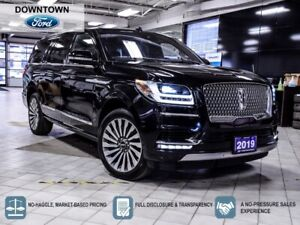 2019 Lincoln Navigator Reserve L, ONE OWNER, CLEAN, HWY KM, $0 Down.