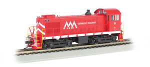 BACHMANN HO SCALE #63111 ALCO S4 DIESEL VERMONT RAILWAY NEW IN BOX