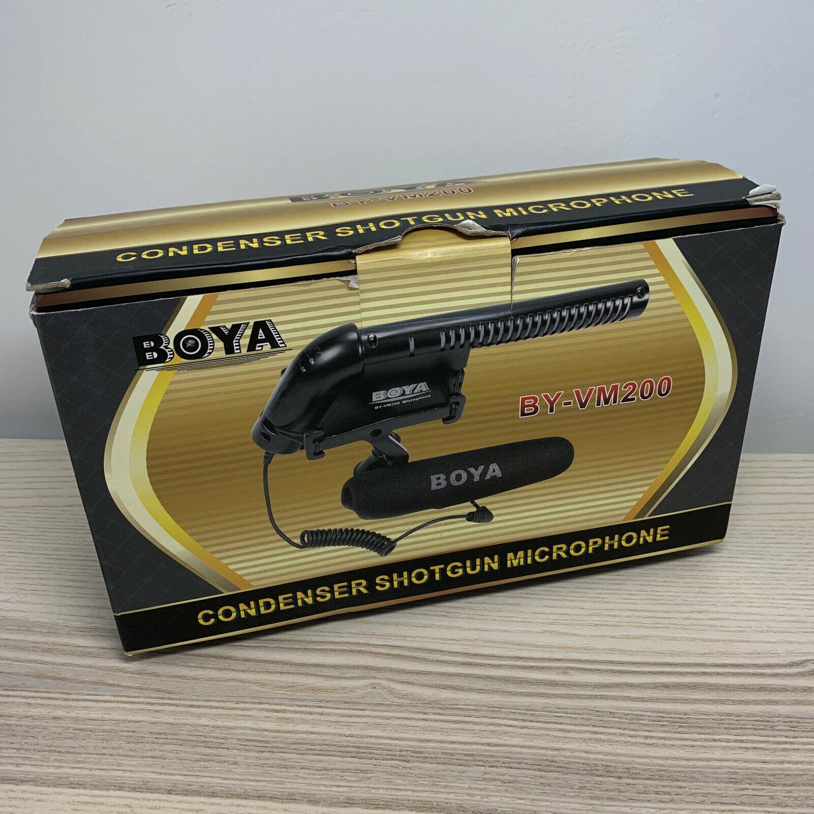 Boya BY-VM200 Condenser Shotgun Microphone