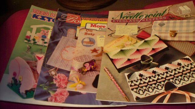 American School of Needlework U-PICK 1 Assorted Plastic canvas Patterns #2