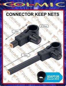 Connettore-orizzontale-Colmic-porta-nassa-10-20cm-30mm-adattatore-25