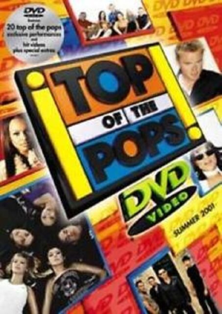 Top of the Pops-Summer 2001  DVD NEW SEALED FREEPOST