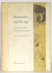 Harunobu-and-his-age-color-printing-in-Japan-D-B-Waterhouse-signed-1964-edition