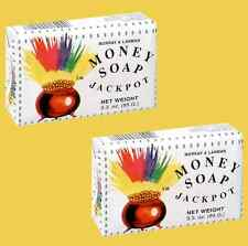 MONEY SOAP 3.3oz Jackpot Good Luck - Jabon del Dinero Buena Suerte - Qty 2 Bars