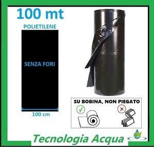 PACCIAMATURA-TELO-NON-FORATO-FILM-PACCIAMANTE-BOBINA-METRI-100-LARGHEZZA-1-MT
