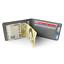 Faux Leather Money Clip Slim Wallet Men/'s ID Credit Card Holder Case Purse