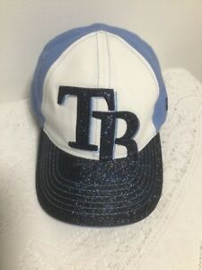 Details about TAMPA BAY RAYS TODDLER HAT MLB BASEBALL CAP NEW ERA 9TWENTY  GLITTER