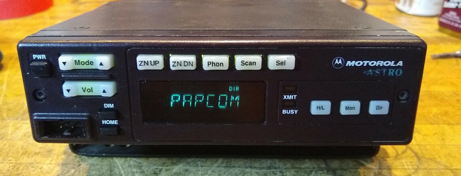 REFURBISHED MOTOROLA ASTRO SPECTRA VHF RADIO 50W W5 D04KKF9PW5AN COMPLETE 1YW. Buy it now for 219.00