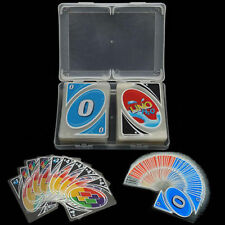 Plastic Waterproof H2O Uno Card Game 108 Playing FUN Cards Family Children BNIB
