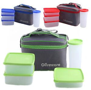 Oliveware New Lunch Bag Set of 4 LB53