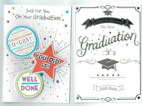 Graduation Card  Choose From Two Designs