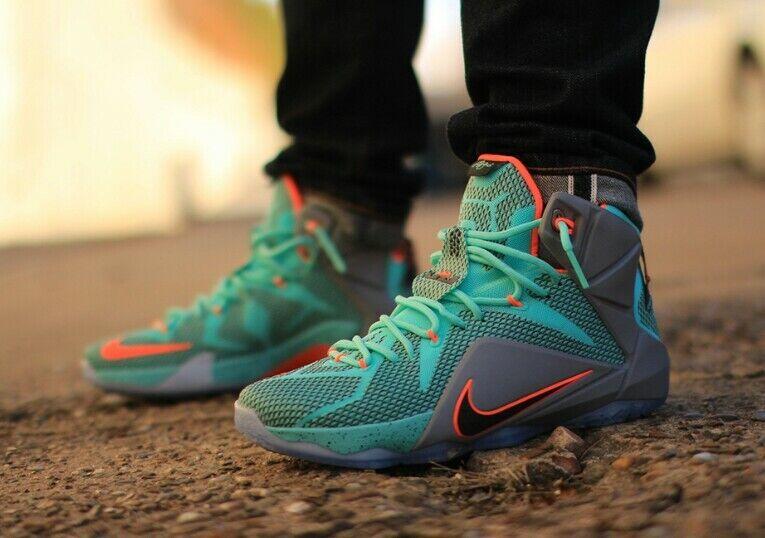 Nike Lebron XII - 684593 301 | finitura  | Uomo/Donna Scarpa