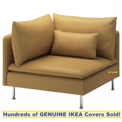 IKEA SODERHAMN Corner Sofa Section Cover Slipcover SAMSTA DARK YELLOW New SEALED