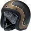 Biltwell Bonanza Motorcycle Helmet Street Retro 3//4 Open Face NEW IN BOX