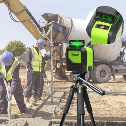 Huepar Laser 901CG 360Grad Selbstnivellierend Kreuzlinierlaser
