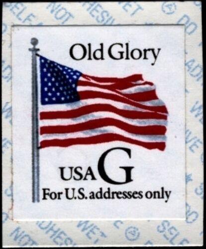 "1994 32c Old Glory, Interim Regular Issue, ""G"" Scott 28"