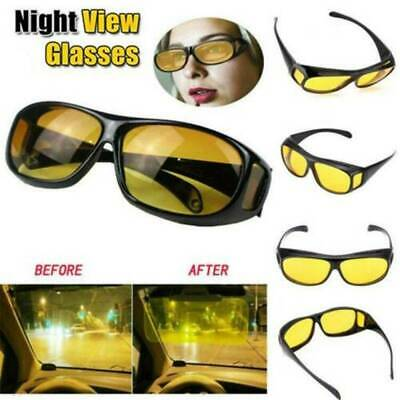 Unisex Night Vision Driving Glasses Fashion Men Women Polarized Sunglasses UK
