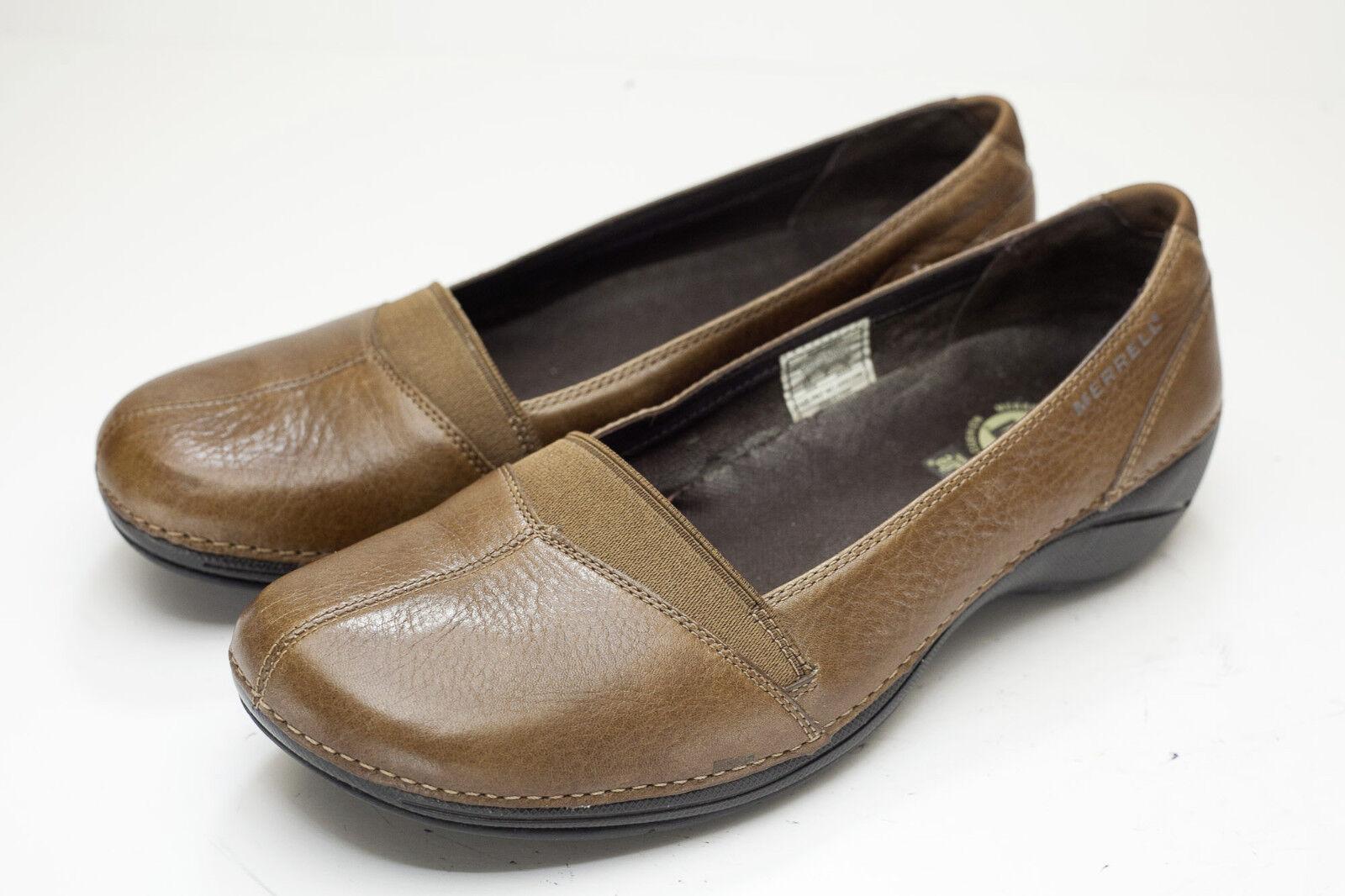 Merrell 8.5 Brown Slip On Women's shoes