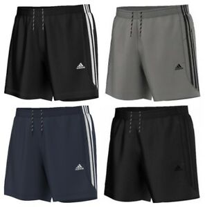 Details about Adidas Essentials Chelsea Mens Shorts 3 Stripes Climalite  Sports Gym Running