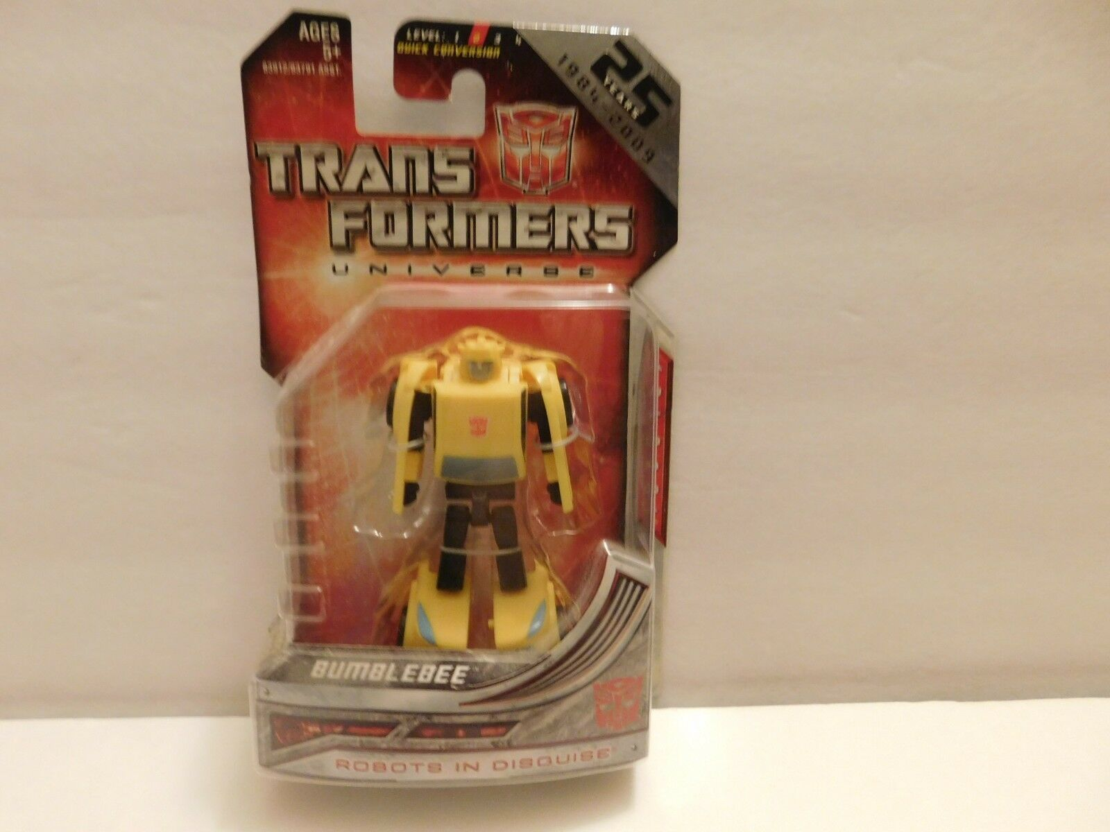 Transformers Legends classe G1 Series Bumblebee 25th Anniversary