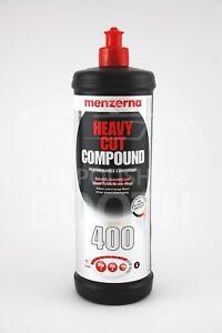 Menzerna-Lourd-Cut-Compound-400-1L-Voiture-Vernis-Tout-Neuf
