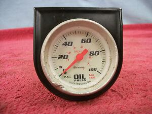 Aftermarket Oil Pressure Gauge, Used