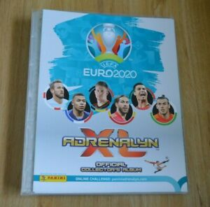 Panini Adrenalyn XL UEFA Euro 2020 Starter pack cuaderno Limited Edition em
