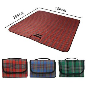 Image Is Loading Extra Large Waterproof Picnic Blanket Rug Travel Outdoor