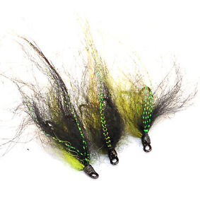 10 and 12 doubles and trebles sizes 8 Red Frances x 3 salmon flies