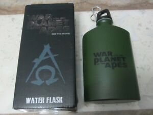 War-for-the-Planet-of-the-Apes-2017-Water-Drink-Flask-Bottle-Genuine-Movie-Promo