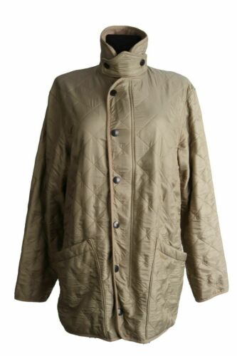 Women's BARBOUR POLAR QUILTS Olive Lined Jacket Si
