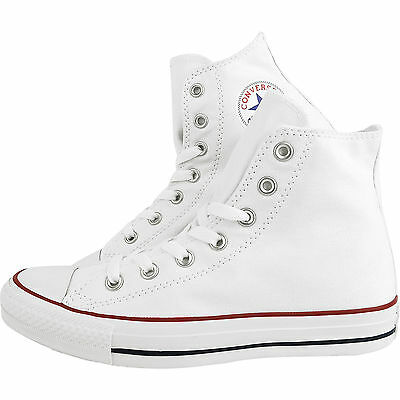 Converse Classic Chuck Taylor All Star White HI High M7650 Trainer Sneaker NEW**