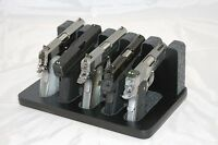 Pistol 5 Gun Rack Stand 505 Black Cabinet Safe