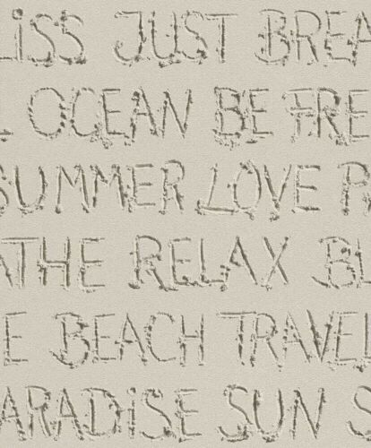 Barbara Becker BB HOME PASSION papier peint Beach Crème rapidement 476309 nappes papier peint
