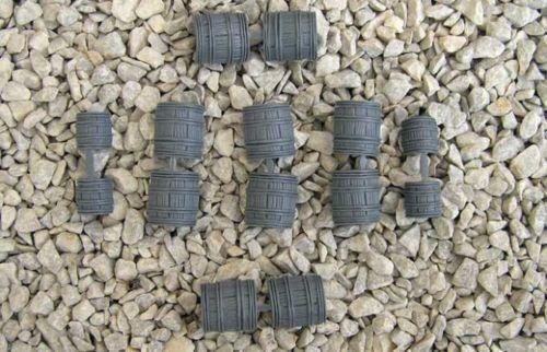 Renedra Limited Generic Game Pieces Grey Barrels RN5