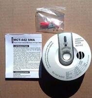 6 Visonic Mct-442 Sma (2.4ghz) Wireless Co Carbon Monoxide Detector Alarm Sensor