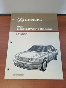 image is loading new-lexus-1995-ls400-electrical-wiring-diagram-for-