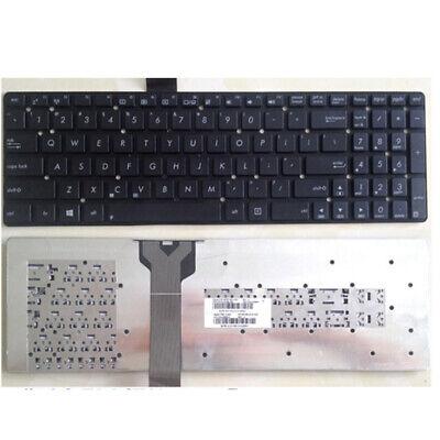 Laptop Keyboard Compatible for ASUS 0KNB0-E601US00 0KNB0-E601US00 ASM14C33USJ442 US Layout Black Color No Frame
