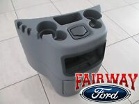 03 Thru 17 Econoline Van Ford Dog House Center Console Cup Holder Flint Grey