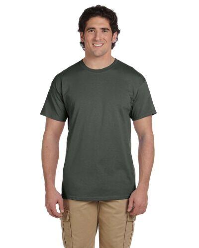 Gildan Mens Ultra Cotton T Shirt Short Sleeve multicolor Tee S M L XL G2000-G200