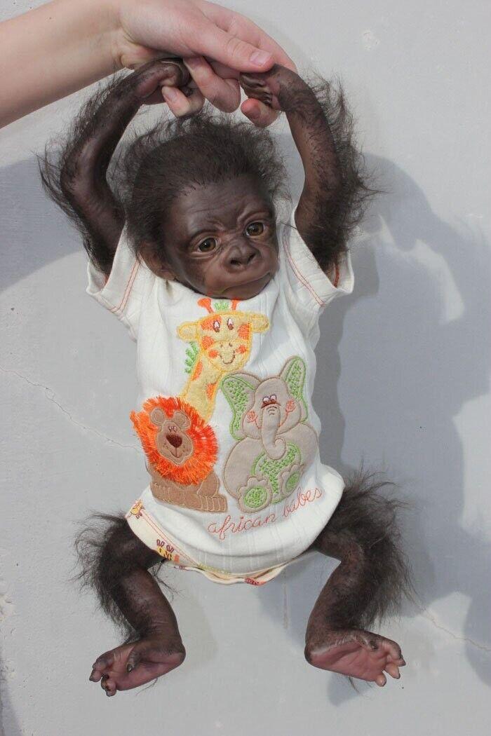 reborn baby monkey, Reborn Animals, Reborn Baby Dolls