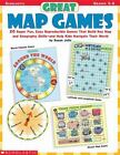 Great Map Games : 20 Super Fun, Easy Reproducible Games That Build Key Map and Geography Skills-And Help Kids Navigate Their World! by Susan Julio (2000, Paperback)