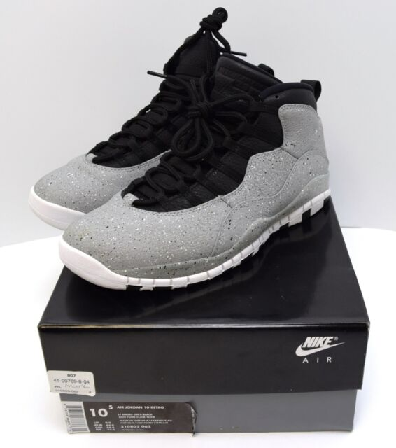 05954f82cadc7c Mens Air Jordan 10 Retro 310805-062 LT Smoke Grey Size 10.5 for sale ...