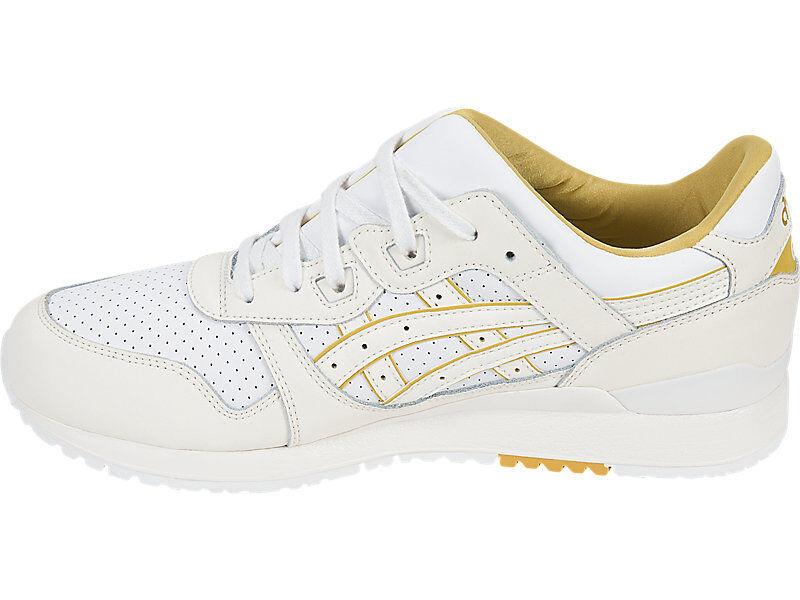 Mens Asics Gel-Lyte III Weiß Cream Gold H7L3L-0100 sz 10.5