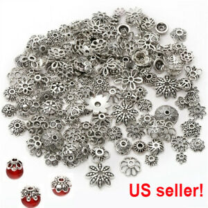 Wholesale-Mixed-Tibetan-Silver-Flower-Bead-Caps-For-Jewelry-Making-DIY-USA