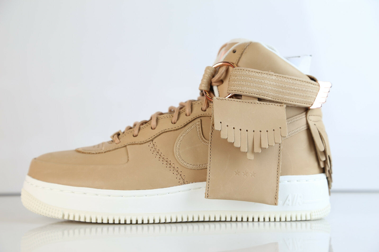 Nike AF1 Hi Sports Luxury 5 Decades Lux Vachetta Tan 919473-200? 8-13 air force