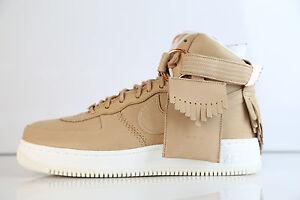 b77943252ec5 Nike AF1 Hi Sports Luxury 5 Decades Lux Vachetta Tan 919473-200 8 ...